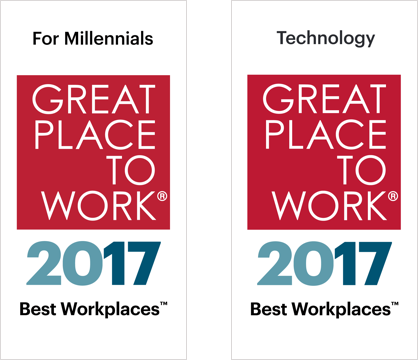 Award 2017 Great Place For Technology 2X