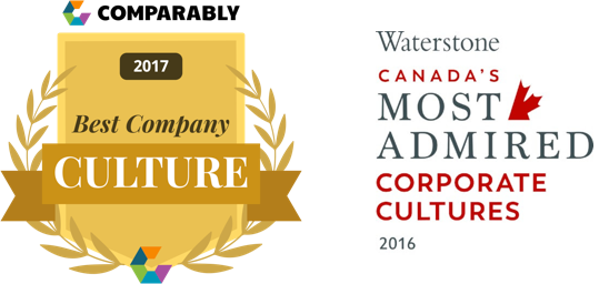 Award Canadas Best Company Culture 2X