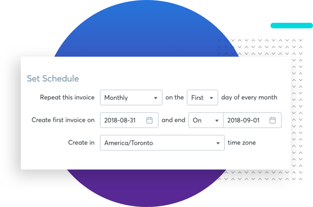 Invoice Scheduling
