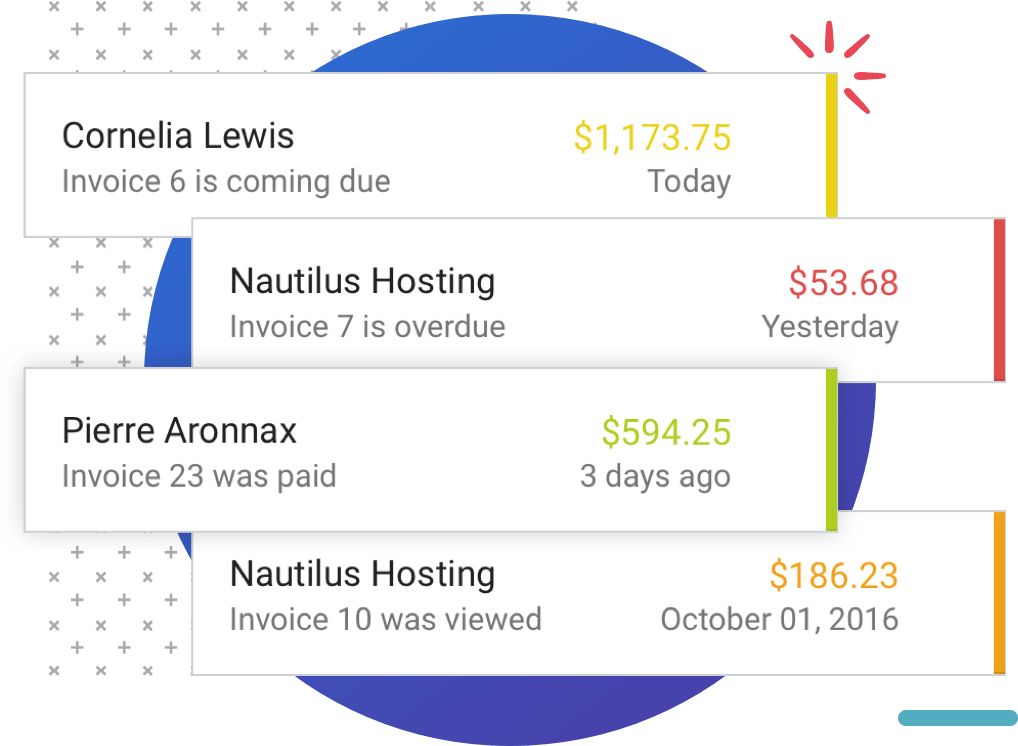 Spot Invoicing Mobile Notifications