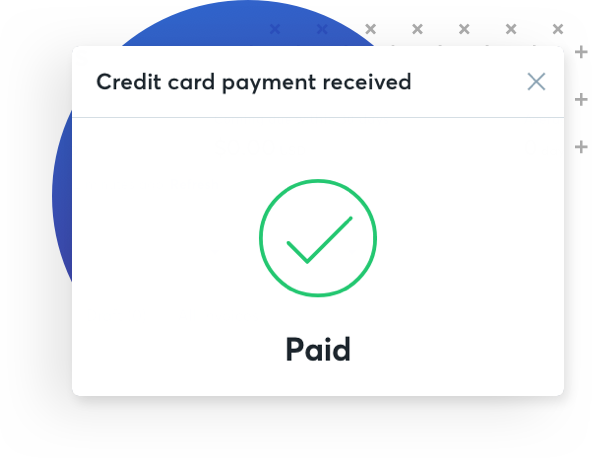 Payments By Wave - Quickbooks invoice credit card payment