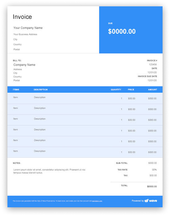 sample excel templates  editable invoice template excel
