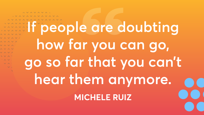 quote from michele ruiz