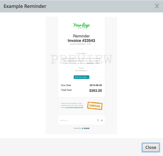 Send reminders and get paid faster