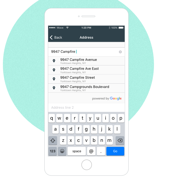 autocomplete-ios image New features for mobile invoicing