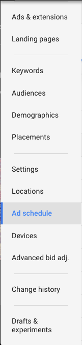 AdWords screenshot 1