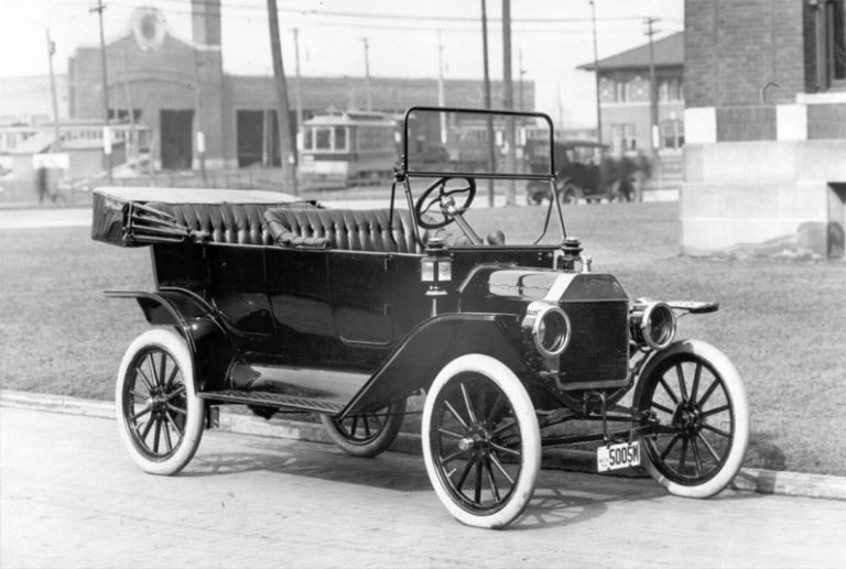 A 1914 Ford Model T Touring car. Courtesy the Henry Ford.