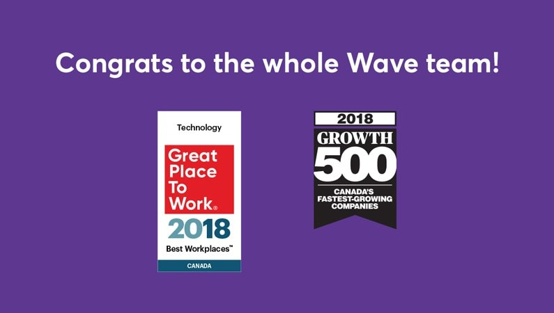 Two awards for Wave