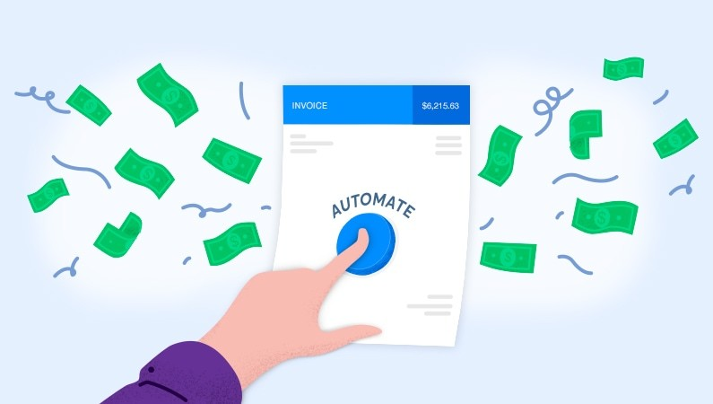 Invoice automatically generates money