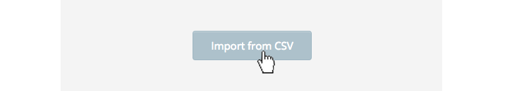 import csv button