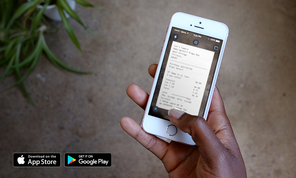 receipts by wave app