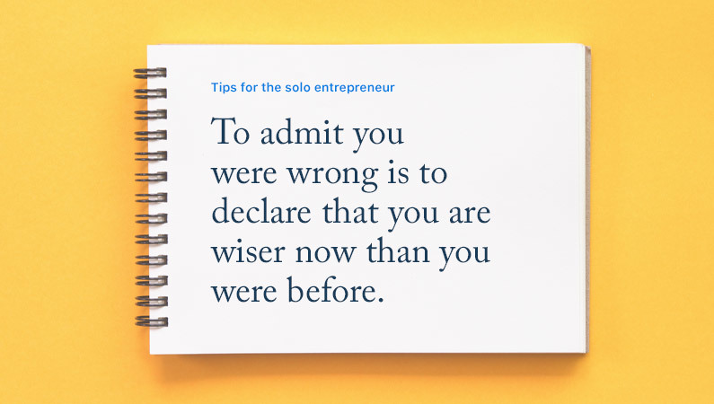 The Solo Entrepreneur's Notebook: Keeping the Passion High in Good Times and Bad